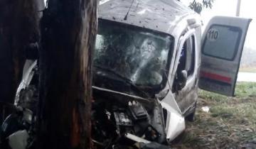 Imagen de Despiste trágico: chocó contra un árbol en la Ruta 88 y murió
