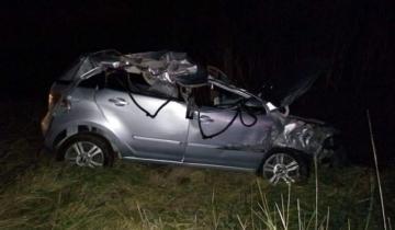 Imagen de Fuerte accidente en la Ruta 57: un joven oriundo de Pila resultó herido