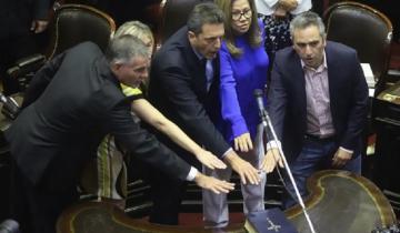 Imagen de Con Massa al frente de la Cámara, juraron los nuevos diputados