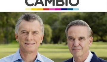 Imagen de Mauricio Macri encabezará el lanzamiento oficial de la campaña
