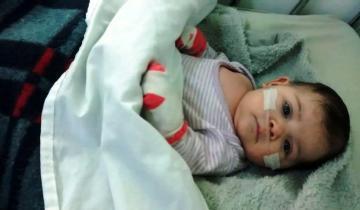 Imagen de San Clemente: piden ayuda para una beba de 2 meses que necesita operarse del corazón