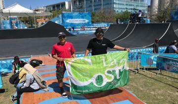 Imagen de Orgullo por un costero en los Juegos Olímpicos de la Juventud