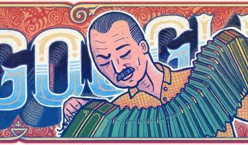 Imagen de Astor Piazzolla: a 100 años de su nacimiento, Google se suma a los homenajes con su doodle