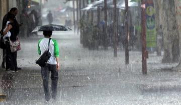 Imagen de Alerta meteorológico por tormentas fuertes para la Costa Atlántica