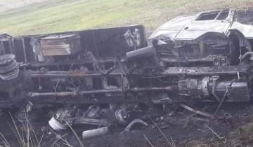 Imagen de Un camionero de Castelli murió en un trágico accidente