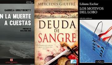 Imagen de Destacan a la dolorense Gabriela Urrutibehety entre las principales escritoras de policiales del país