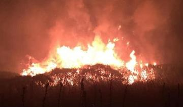 Imagen de Incendio forestal en Sierra de los Padres: el fuego ya alcanzó a 50 hectáreas