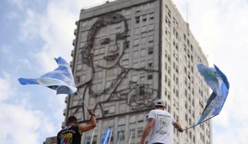 Imagen de Mauricio reconfortó al PJ que celebró su Día de la Lealtad