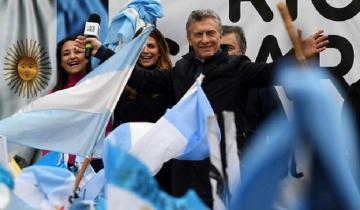 """Imagen de Macri en Córdoba: """"El domingo nos jugamos el presente y el futuro"""""""