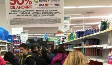 Imagen de Hoy es Supermiércoles de descuentos para clientes del Banco Provincia