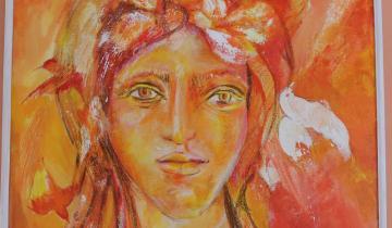 Imagen de La artista dolorense Matilde Reconde expone sus pinturas en Buenos Aires