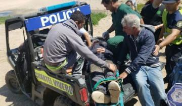 Imagen de Un anciano se perdió en los médanos de Miramar: sobrevivió 4 días sin comida
