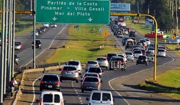 Imagen de Tránsito intenso en las rutas desde La Costa en el cierre del fin de semana de Carnaval
