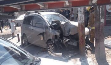 Imagen de Una mujer murió y sus dos hijas resultaron heridas en un accidente en Quilmes