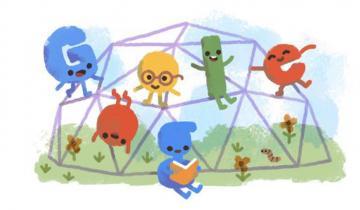 Imagen de El divertido Doodle con el que Google celebra el Día del Niño