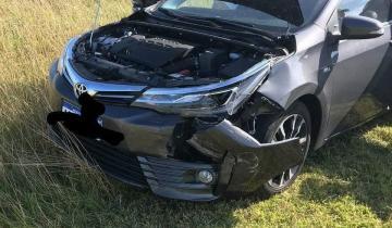Imagen de Cinco heridos en un accidente en la Ruta 74