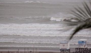 Imagen de Alerta meteorológico por vientos fuertes con ráfagas en la Costa Atlántica