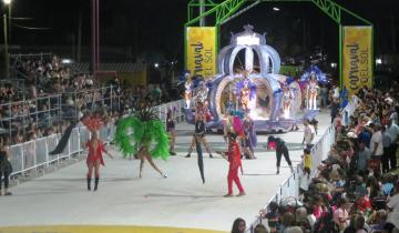 Imagen de Dolores: culminó con buen suceso el Carnaval del Sol y Etchevarren prometió que seguirá creciendo