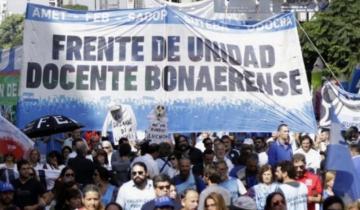 Imagen de Kicillof postergó para marzo el pago de un retroactivo a los docentes