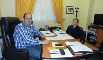 Imagen de El Intendente de Tordillo recibió a la Jefa de Coordinación zonal de Políticas de Género