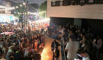 Imagen de El pedido de justicia por el asesinato de Fernando reunió a cientos de personas frente a Le Brique