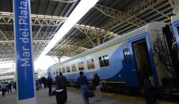 Imagen de Desde el 2 de noviembre, vuelve el servicio de trenes Mar del Plata-Constitución