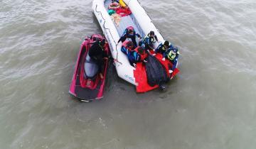 Imagen de La Costa: regresaron al mar a una tortuga de 200 kilos encontrada en Costa Azul