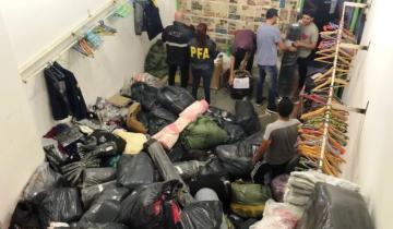"""Imagen de Secuestraron mercadería por 42 millones de pesos de una """"ONG"""" que vendía las donaciones"""