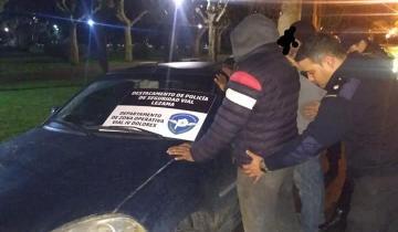Imagen de Lezama: cinco hombres de San Clemente circulaban en un automóvil con pedido de secuestro