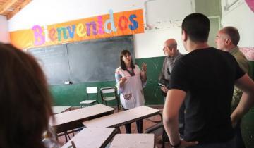 """Imagen de Rumbo a la vuelta a clases: """"Se realizan obras maravillosas"""", elogió una directora costera"""