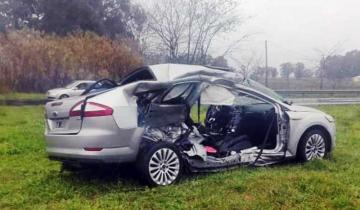 Imagen de Un joven tandilense murió en un accidente en la Ruta 3