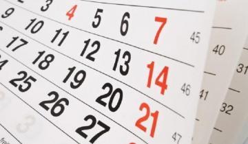 Imagen de Calendario 2019: cuántos feriados y fines de semana largos le quedan al año