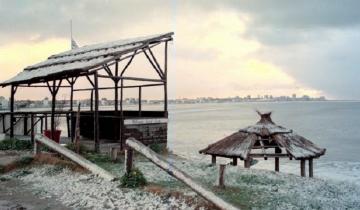 Imagen de Anuncian nevadas para esta noche en La Costa, General Lavalle, Pinamar, Villa Gesell y alrededores