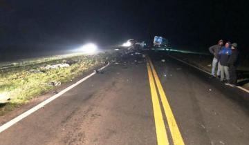 Imagen de Accidente fatal en la Ruta Provincial 51, entre Tapalqué y Azul