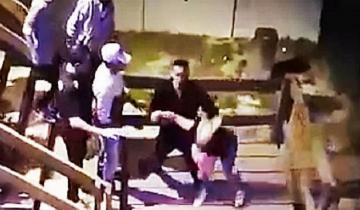 Imagen de Patovica violento en Madariaga: tiró por las escaleras a una chica y le provocó una fractura expuesta