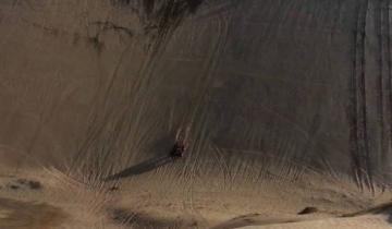 Imagen de Venían de una fiesta clandestina en Monte Hermoso y derraparon en un médano: ocho heridos
