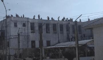 Imagen de Motín en la cárcel donde están los rugbiers: reclaman domiciliarias por temor al coronavirus