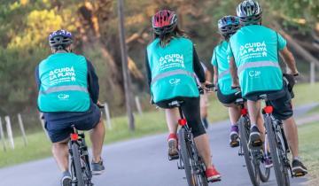Imagen de Qué es el cicloturismo, que causa furor en La Costa