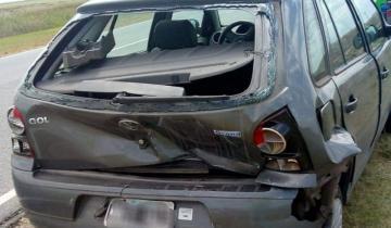 Imagen de Nuevo accidente en la Ruta 11, esta vez sin heridos