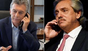 Imagen de Nuevo diálogo entre Mauricio Macri y Alberto Fernández: qué se dijeron
