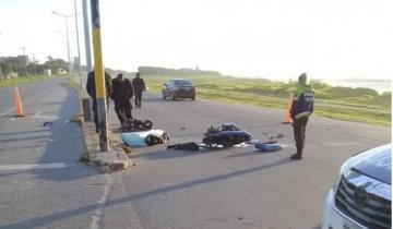 Imagen de Dos muertos en accidentes de tránsito cerca de Mar del Plata
