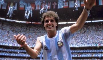 "Imagen de El ""Cabezón"" Ruggeri inició la búsqueda de la mítica camiseta que usó en la final de México ´86"