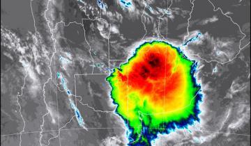 Imagen de Emiten un alerta meteorológico para el centro, el norte y el sudeste de la Provincia