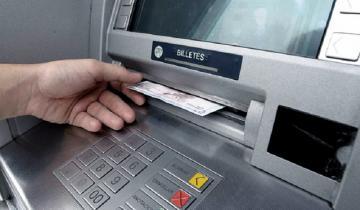 Imagen de Cajeros automáticos: hasta junio los bancos no cobrarán cargos ni comisiones