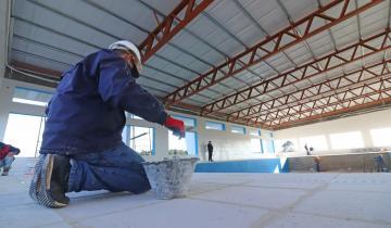Imagen de La Costa: cómo están las obras del nuevo Natatorio y Centro de Deportes de Mar del Tuyú