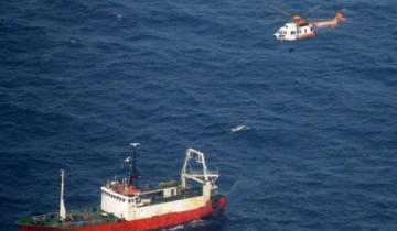 Imagen de Mar del Plata: prefectura rescató de urgencia al tripulante de un pesquero uruguayo