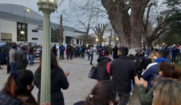 Imagen de Policías de Dolores realizaron una concentración y una marcha por las calles de la ciudad