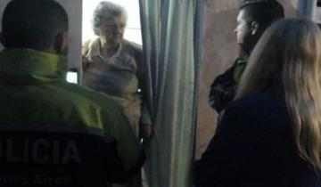 Imagen de Encontraron a la mujer de 72 años que había desaparecido en Maipú