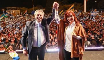 """Imagen de Alberto Fernández y Cristina Kirchner: """"Los argentinos van a volver a ser felices"""""""