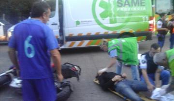 Imagen de Un hombre de 37 años chocó contra una columna y murió